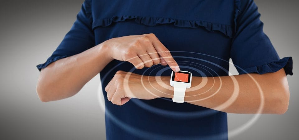 smart watch with alarm