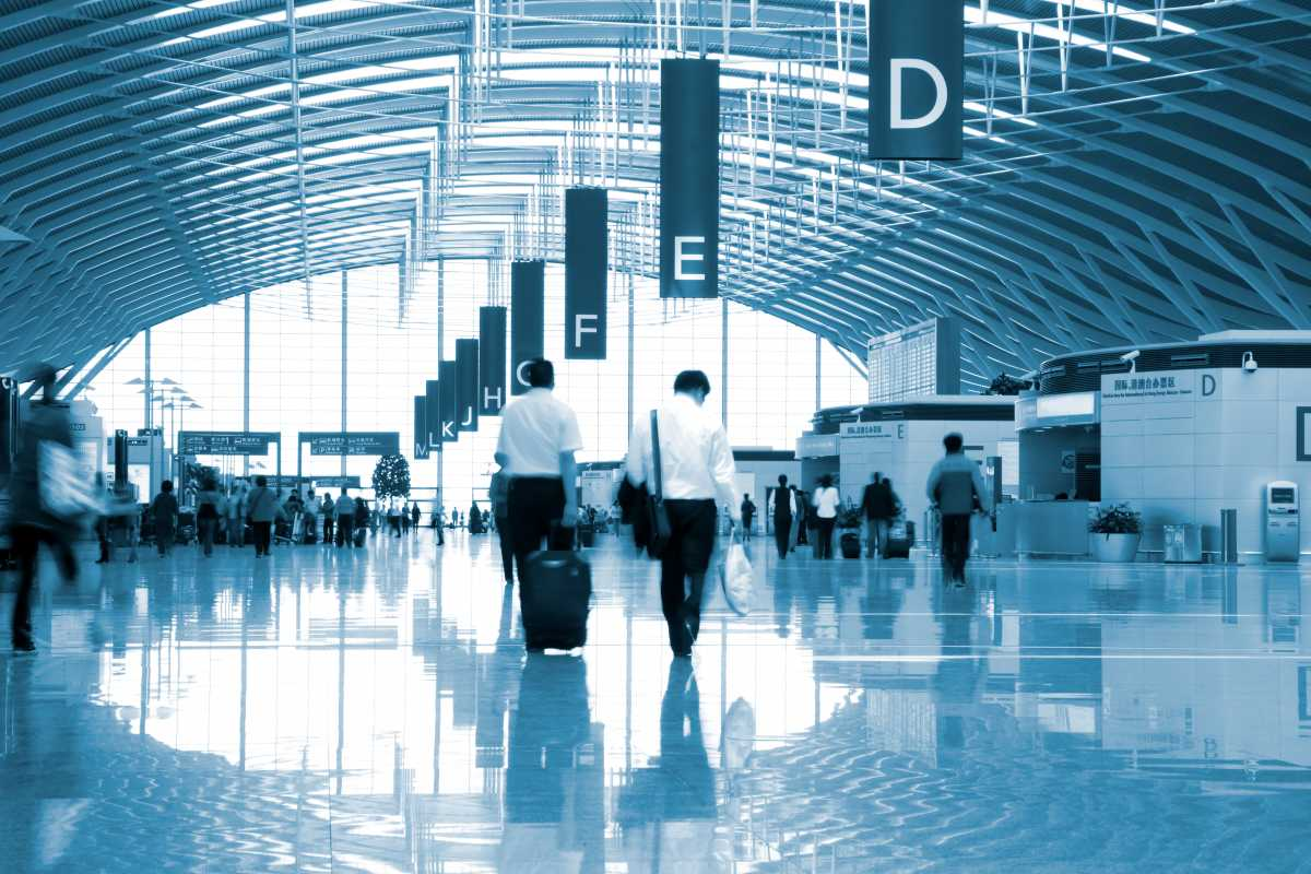 workers travelling abroad