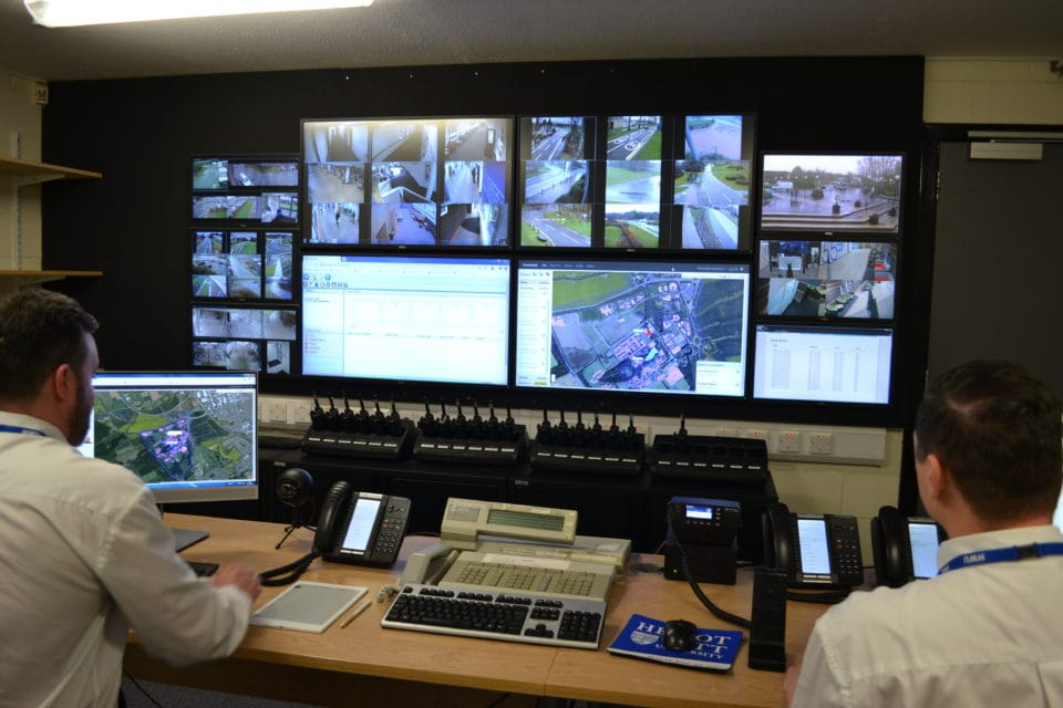 Heriot-Watt uses SafeZone in their control room