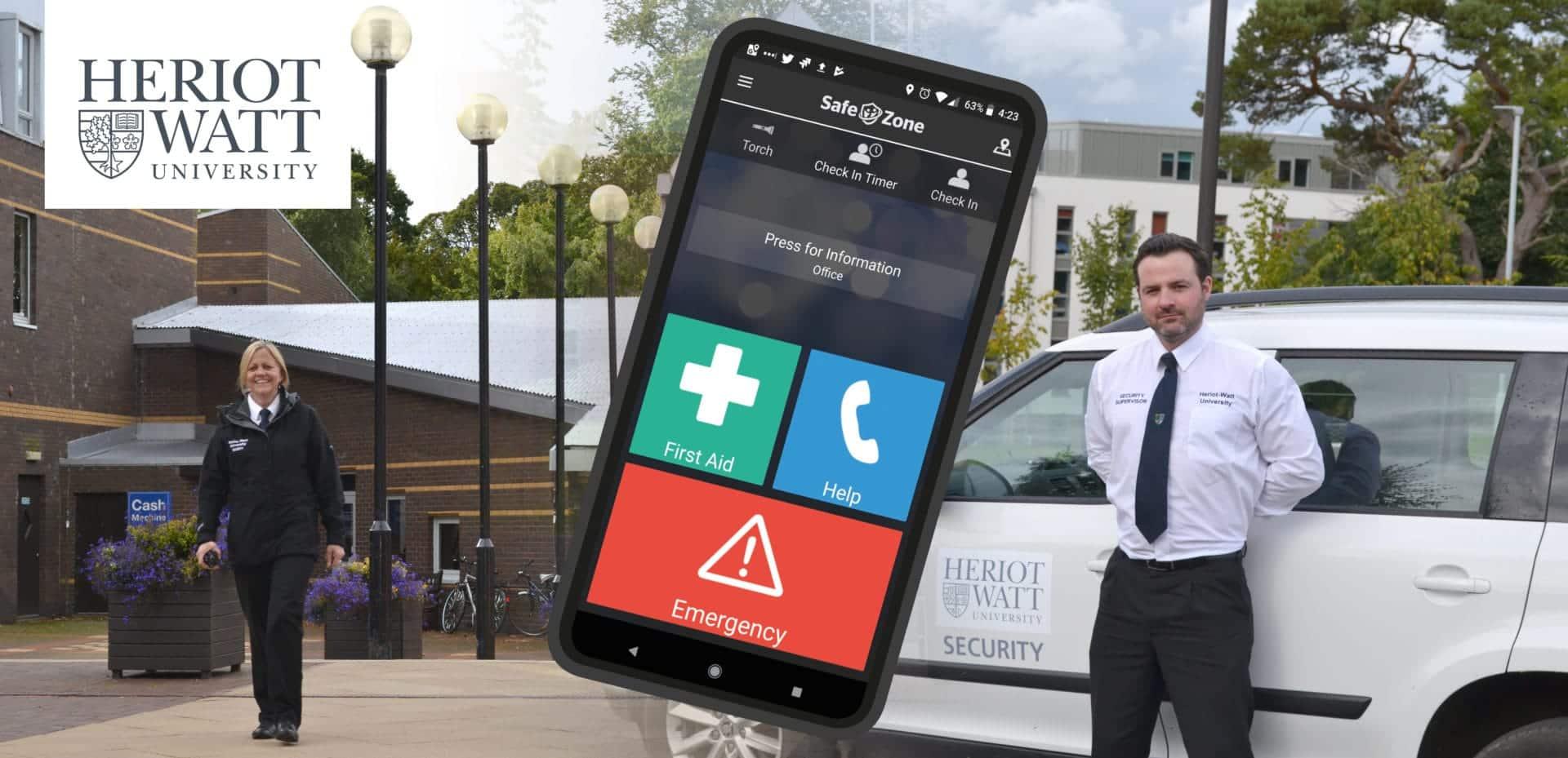 Heriot-Watt SafeZone App