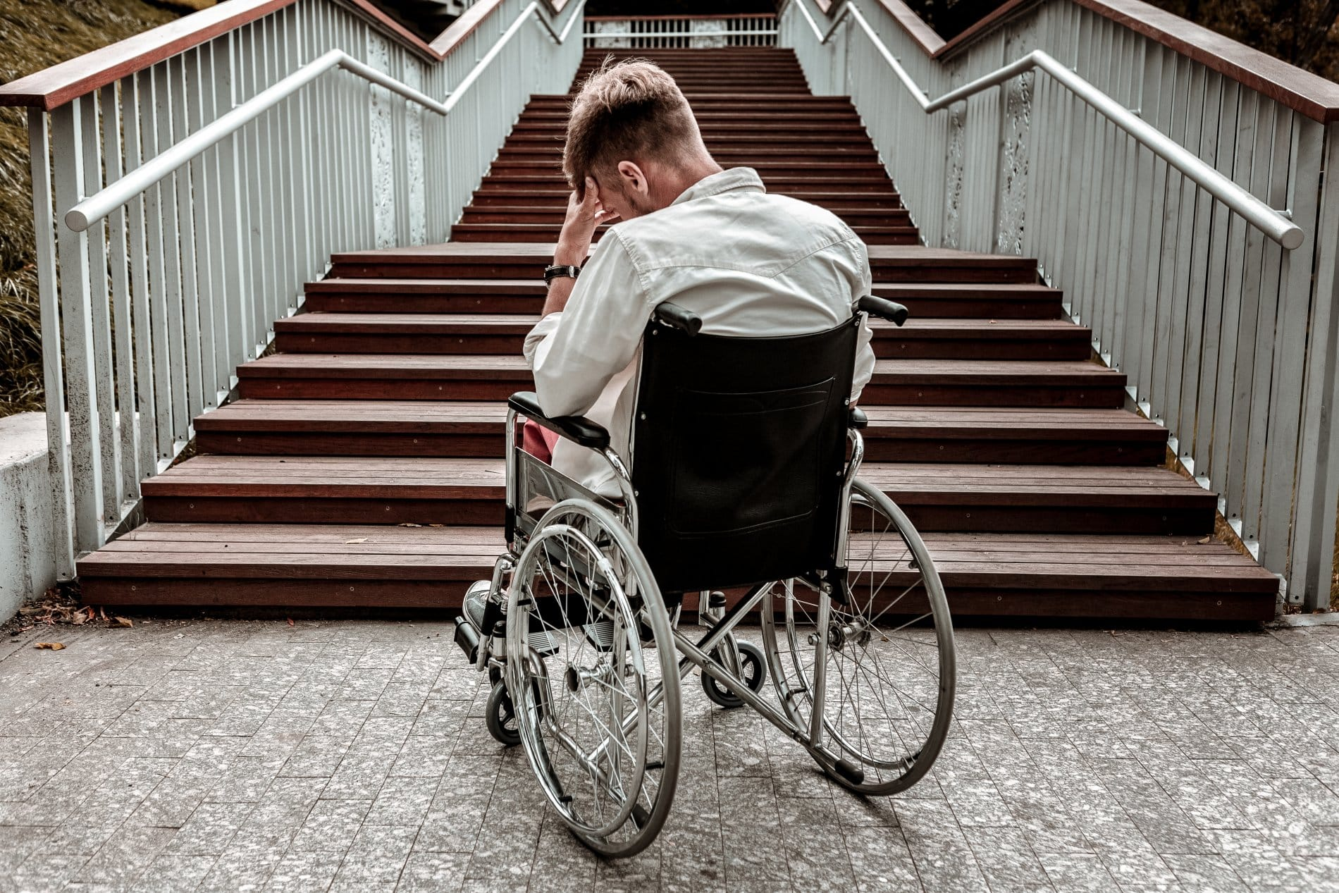 Person with Wheelchair Disability