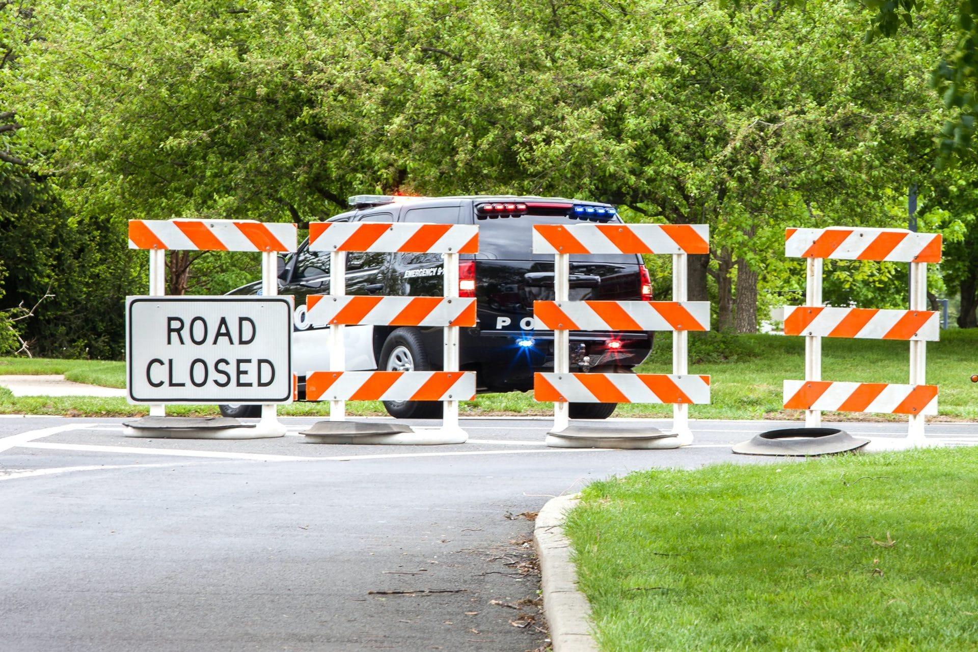 Campus Police Close Campus