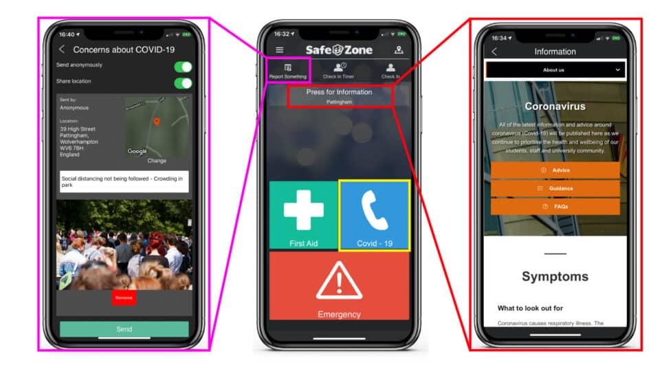 SafeZone Screenshots